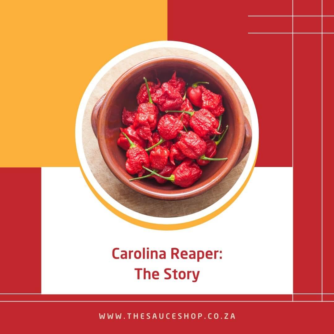 Image of Carolina Reaper Hot Sauce Brand