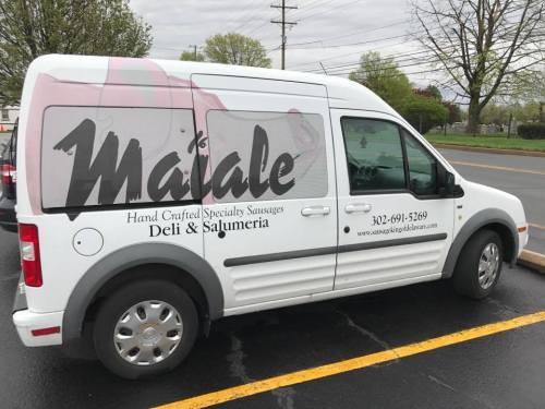 Maiale To Go Van