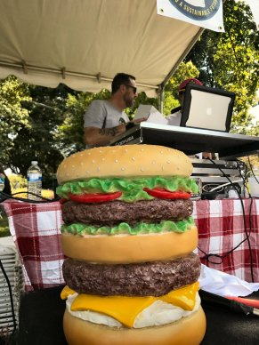 DJ Burger at the Burger Battle