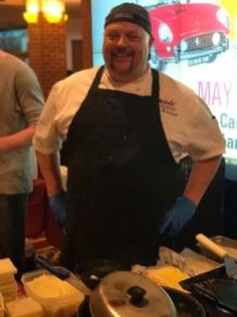Chef Billy Rawstrom Winner of Burger Battle 2017