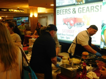 Maiale Deli Team at Grilled Cheese Battle