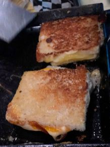 Ooey Gooey Melty Grilled Cheese Delaware