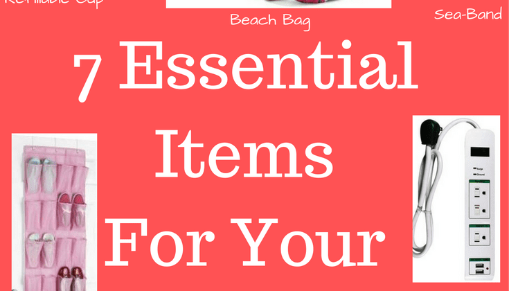7 Essential Items For Your Cruise