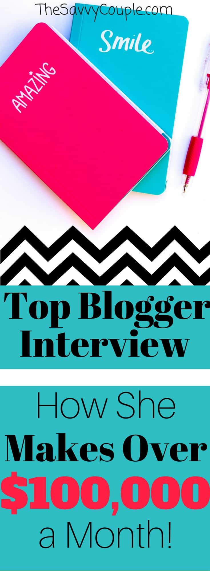 How this blogger makes $100,000 per month from her blog. This is an absolutely incredible interview from one of the most influential bloggers on the internet. Learn how she grew her blog traffic, monetized, and is now making a full-time income while traveling. How to start a blog | traffic growth | blogging ideas | blogging income | income reports