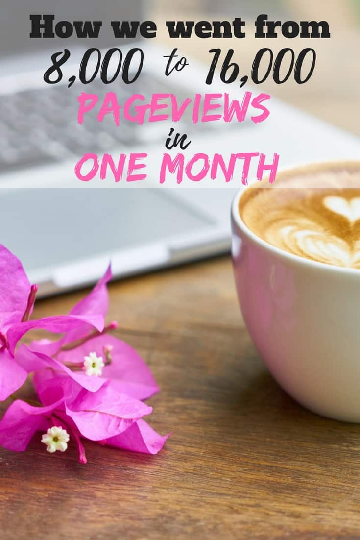 Increasing your blog traffic can be difficult and frustrating. In our monthly blog traffic update we will walk you through the steps we took to double our blog traffic the last three months.