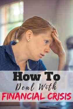 Dealing with a financial crisis the correct way is so important in keeping yourself out of debt. These are the steps you should take to keep your personal finance afloat in a crisis. Debt | Finance | Tips | Advice | How to