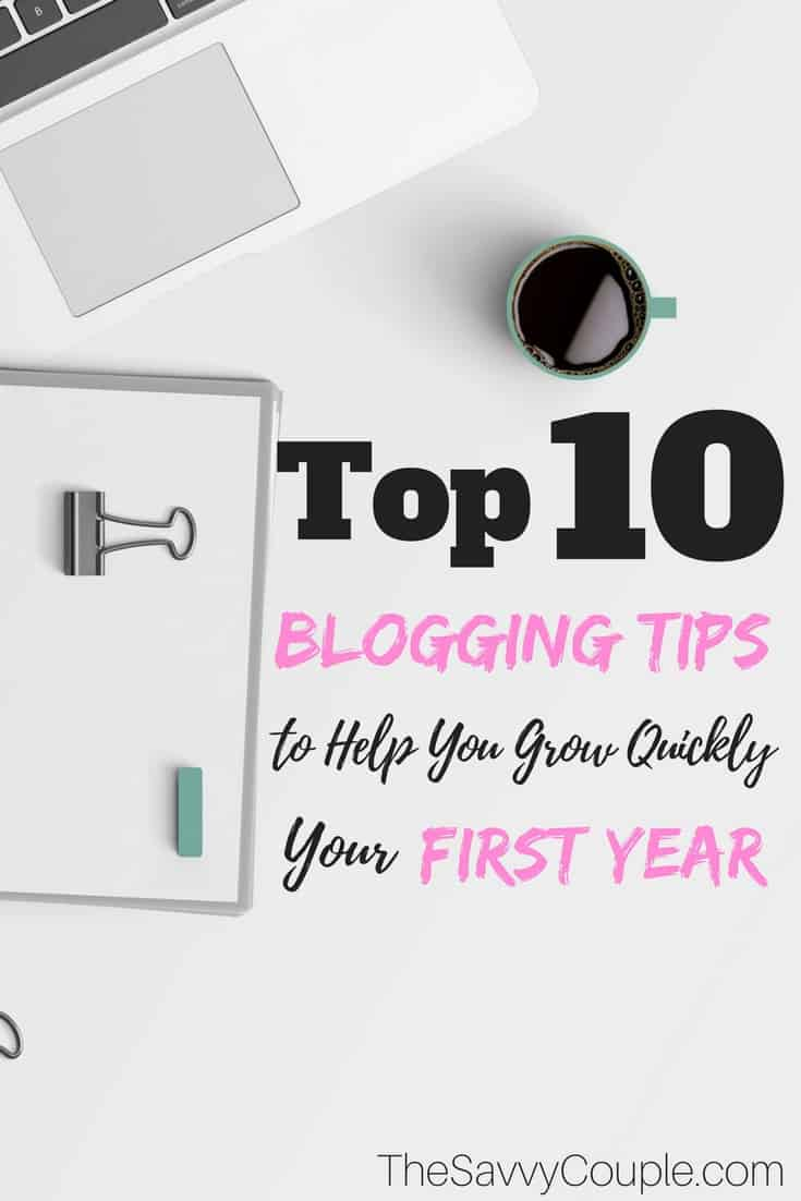 Here's is the best blogging tips we have learned in our first year of blogging. This is a perfect guide for beginners who want to learn how to start blogging and make money. Blog Tips   Blog Ideas   Make Money Blogging   Blog Income   Make Money From Home