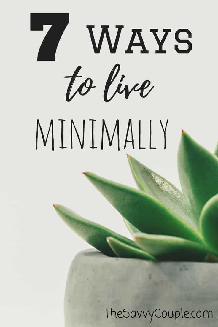 how to become a minimalist fast
