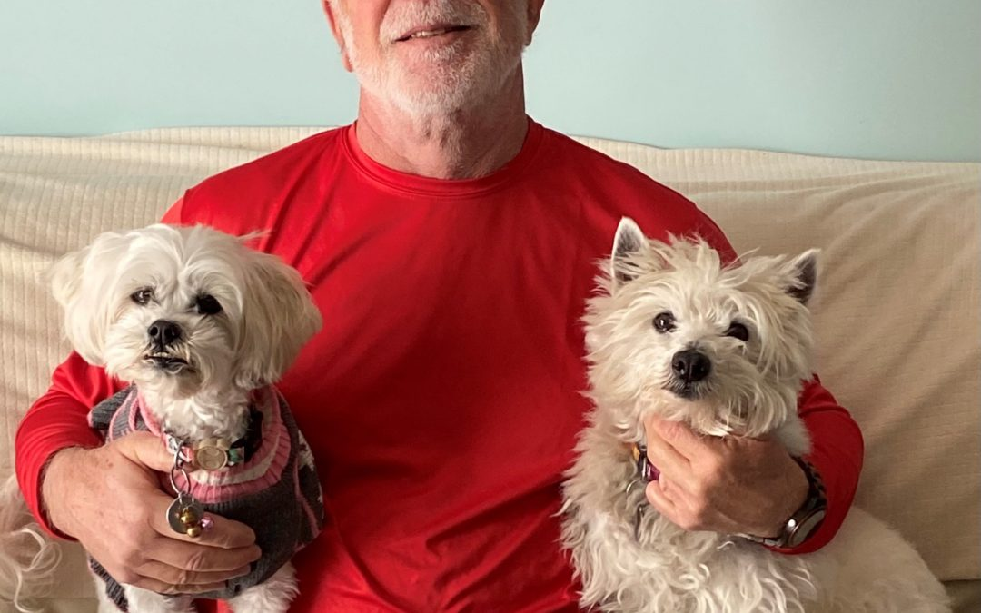 Savvy Pets, 2/26/21:  Happy Birthday Richard from Hey Buddy, Bon Bon & me!