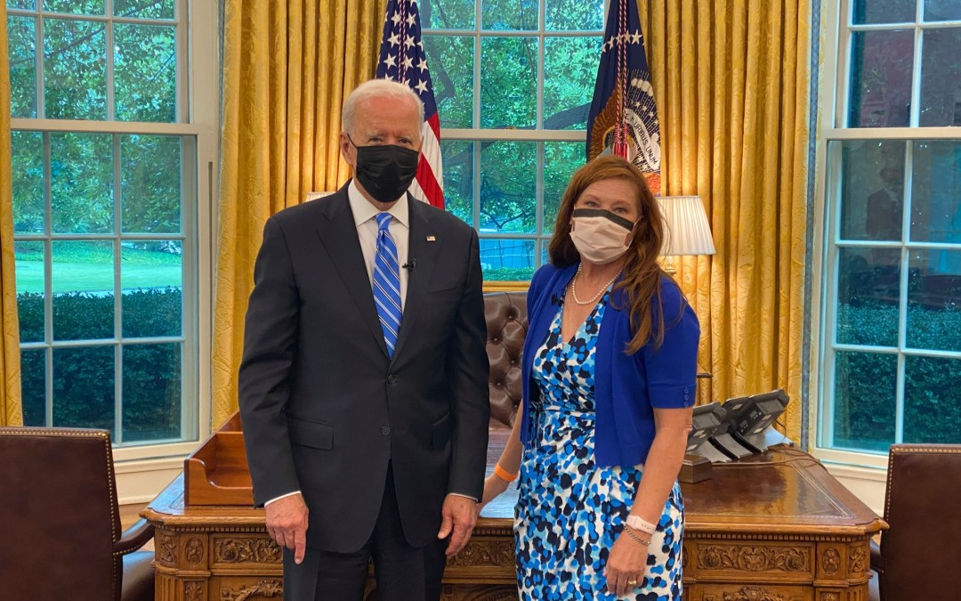 Savvy EXTRA 8/13/21:  Gail Devore with President Biden – INSULIN is NOT OPTIONAL