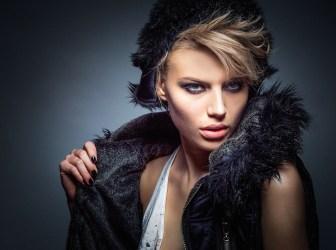 Fashion model woman