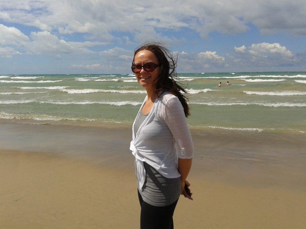 Kasia at Sauble Beach