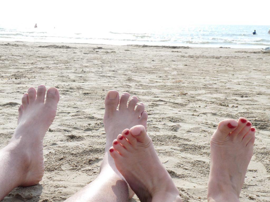 Beachin' it in Sauble Beach