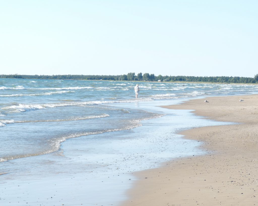 Sauble Beach shore