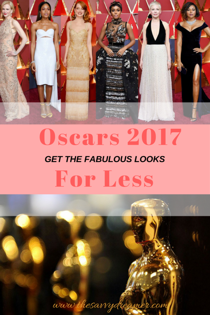 Oscars 2017 Dresses Collage