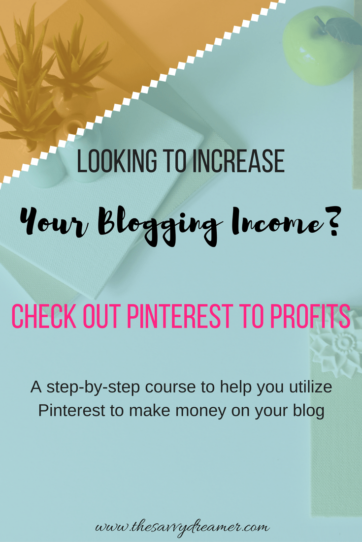 PINTEREST TO PROFITS COURSE