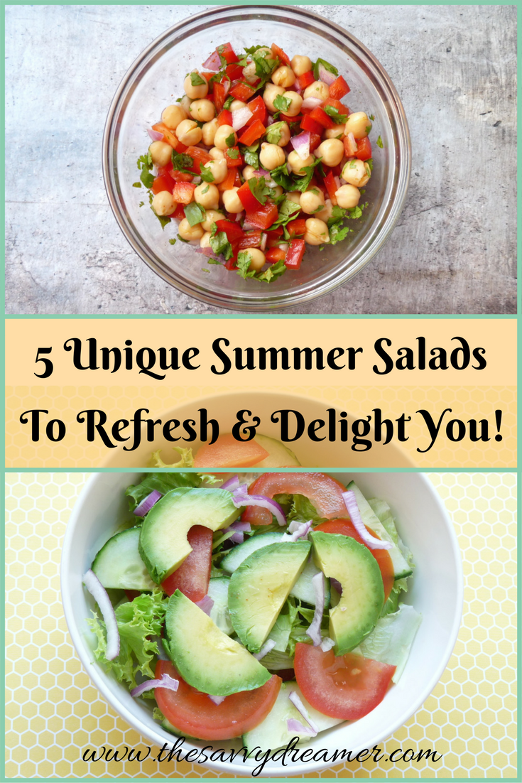 Try These 5 Unique Summer Salads To Refresh and Delight You