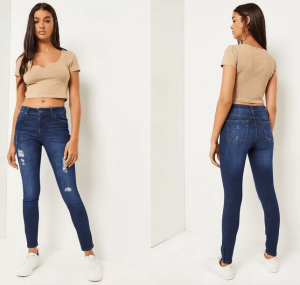 Blue jeans from Ardene
