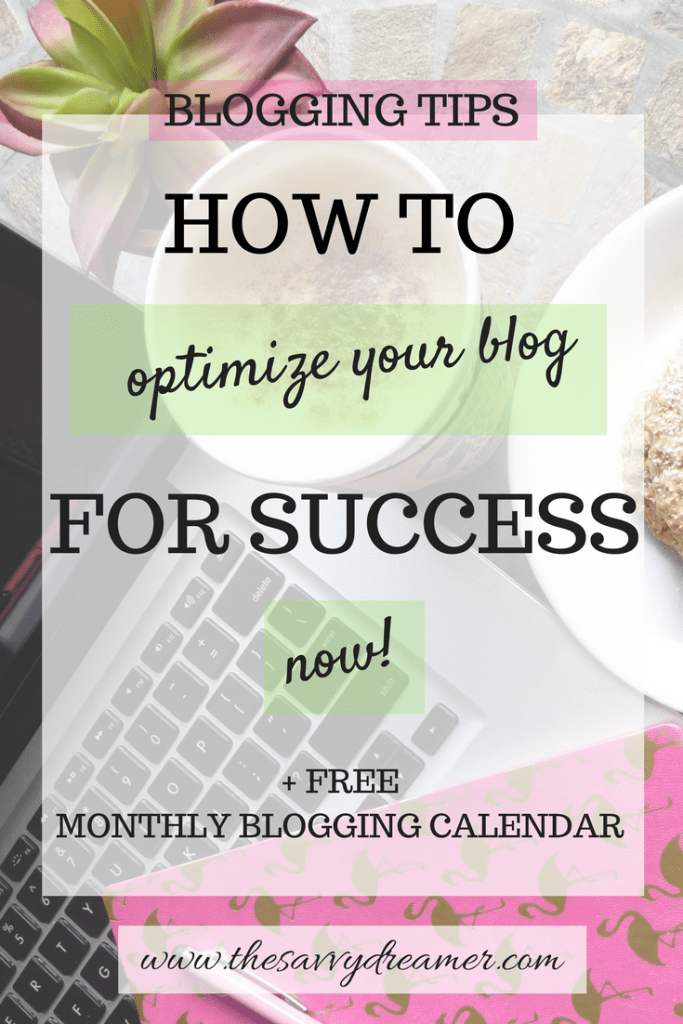 Learn these #blogging #tips to better optimize your blog! Rock #socialmedia & #marketing