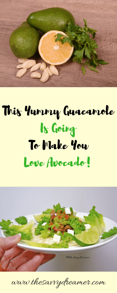 Easy and yummy guacamole recipe! #guacamole #recipe #avocado #pita #chips