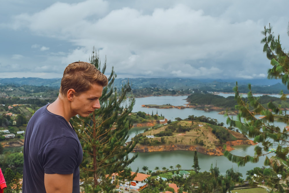 Why El Peñol is one of the unique places to see in Colombia #Colombia #SouthAmerica #El Peñol #travel