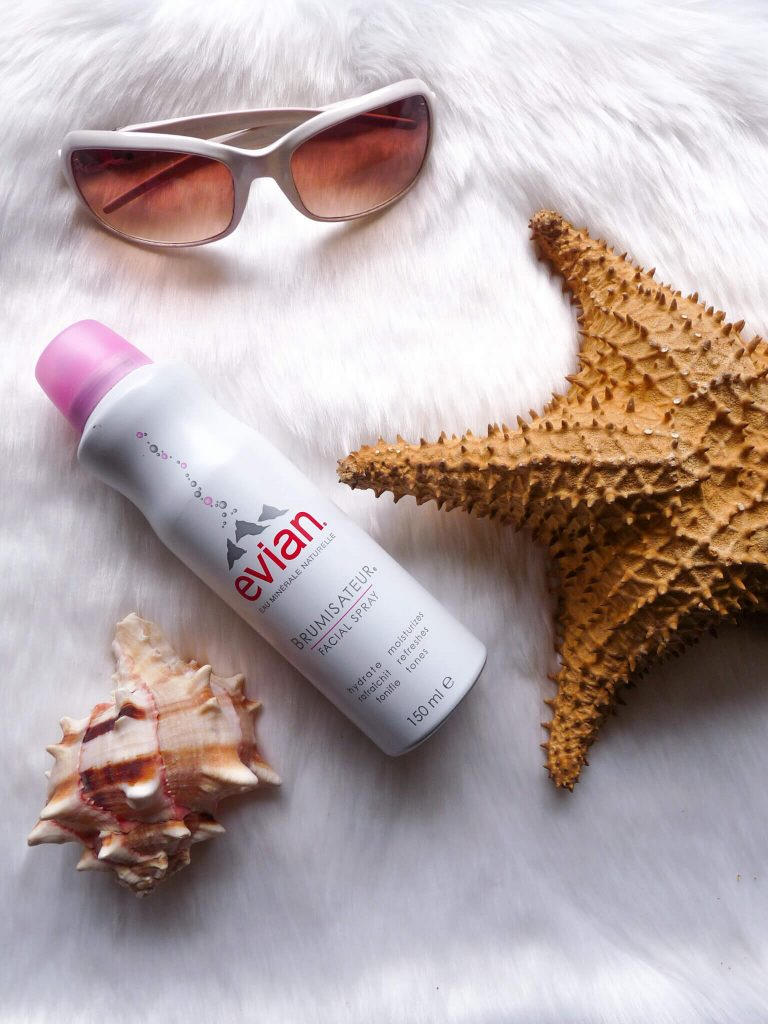 Evian water spray is one of the top summer essentials
