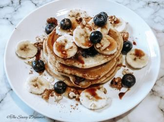 Easy fluffy pancake recipe