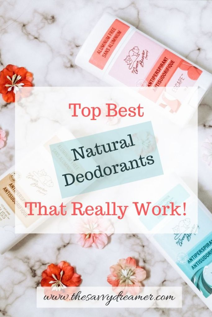 Check out these top best natural deodorants that really work