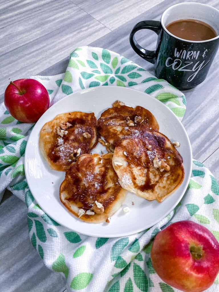 The best recipe for Polish apple fritters #racuchy #plackizjablkami #applefritters #Polishdessert
