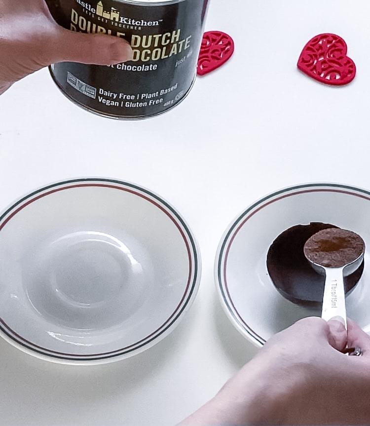 Filling chocolate bomb