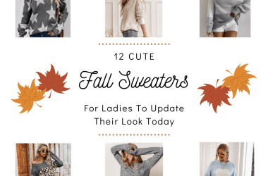 12 Cute Fall Sweaters To Add To Your Wardrobe