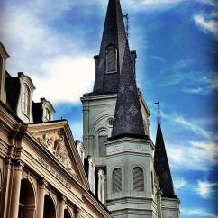St. Louis Cathedral, Jackson Square, New Orleans, French Quarter