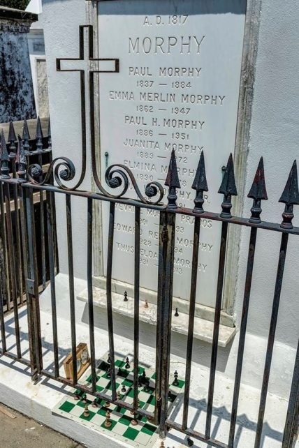 Paul Morphy's Tomb - New Orleans Paragon