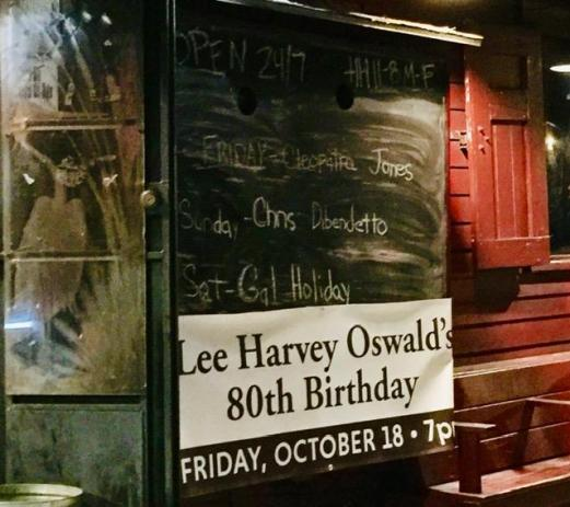 Oswald's Birthday at Le Bon Temps Rouler
