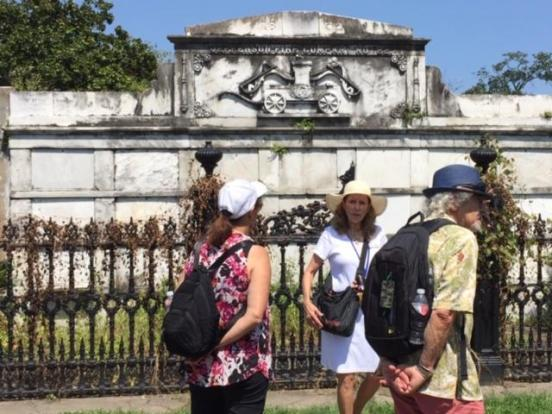 Tour of Lafayette Cemetery