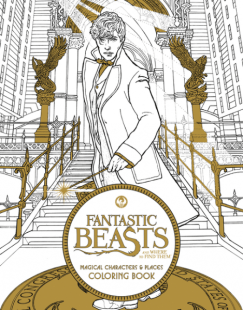 Fantastic Beasts Coloring Book Harry Potter Coloring Book