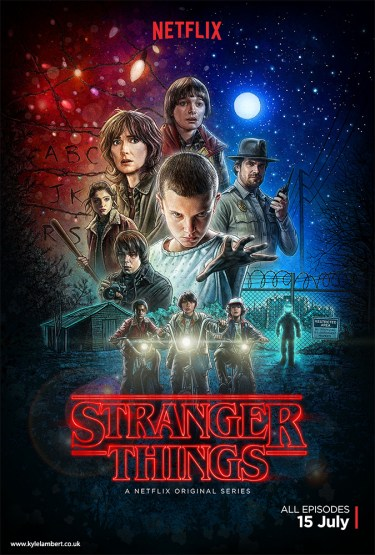 kyle-lambert-stranger-things-poster