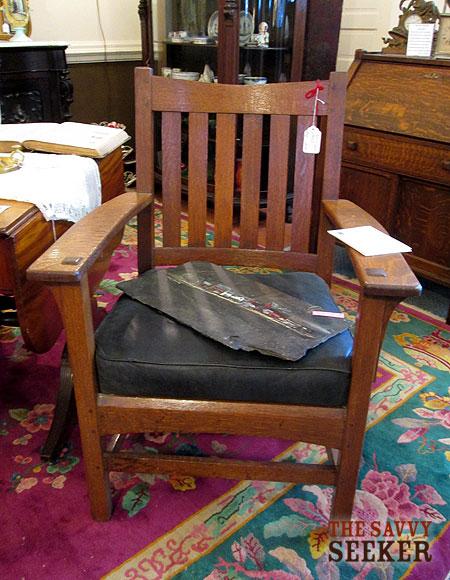 Mission Oak Armchair Plans DIY How To Make Six03qkh