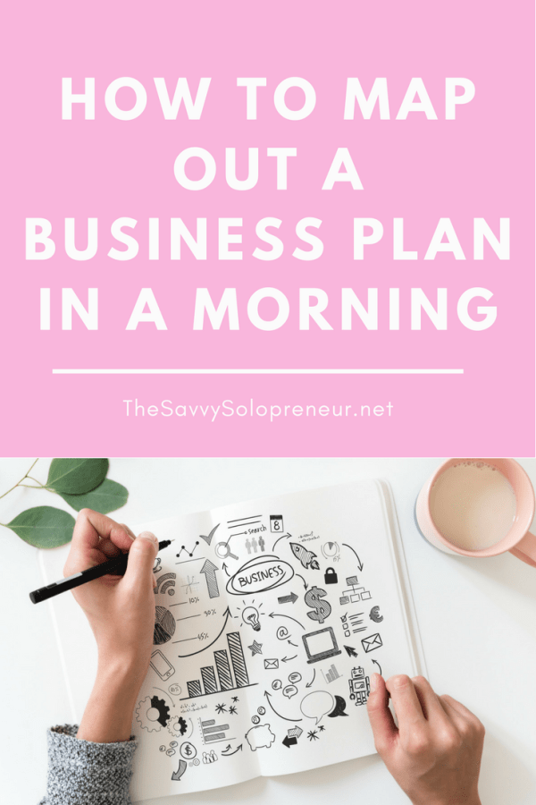 How To Map Out A Business Plan In A Morning