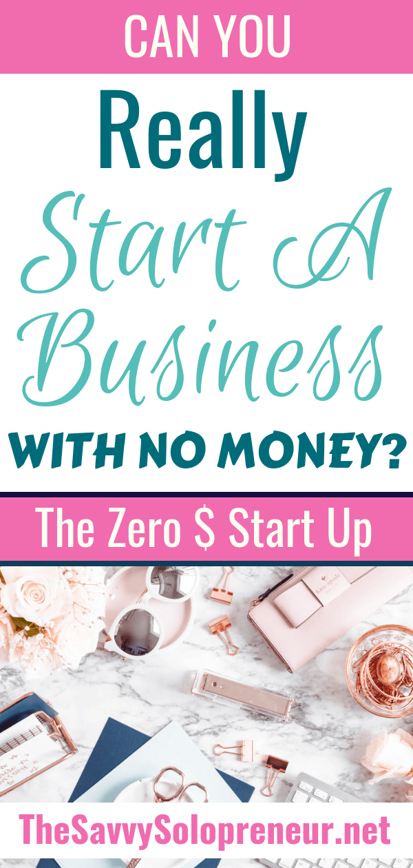 Can You Really Start a Business With No Money?