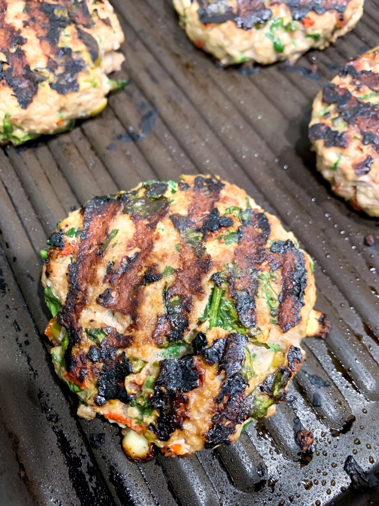 Bunless Greek Burgers by The Savvy Spoon