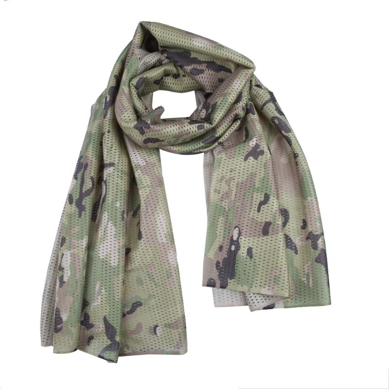 Camouflage Breathable Mesh Scarf