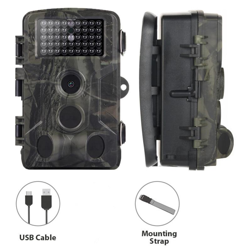 16MP Infrared 1080P Trail Camera