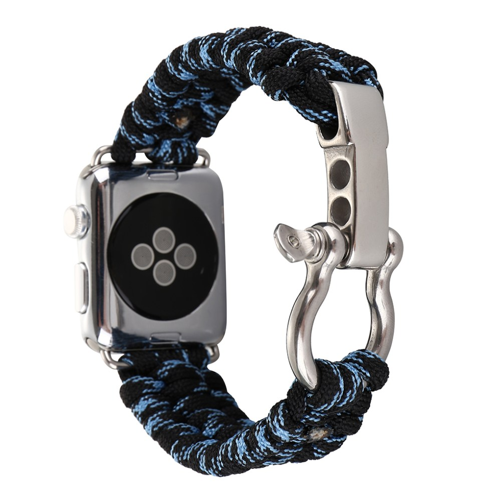 Stylish Survival Rope Wristband for Apple Watch