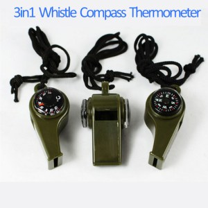1PC New black Whistle Compass 3 in1 Survival Camping Thermometer new brand.jpg 640x640