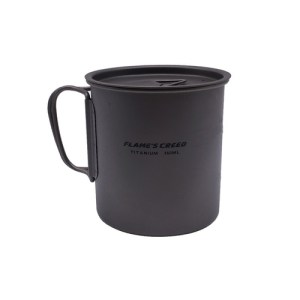 FLAME S CREED 300ML 450ML Outdoor Hiking Camping Picnic Titanium Pot Mug Bowl 3 in1 Lightweight