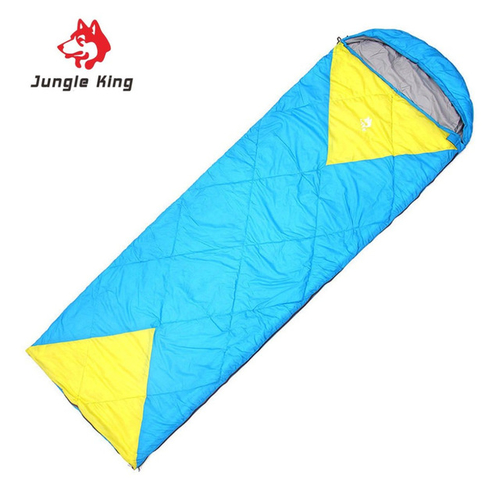 Jungle King Windproof Warm Sleeping Bag Camping Hiking Waterproof Nylon Outdoor Drawstring Hood Comfortable Sleeping Bag.jpg 640x640