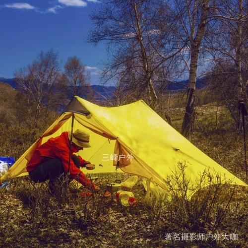 LanShan 2 3F UL GEAR 2 Person 1 Person Outdoor Ultralight Camping Tent 3 Season 4 2