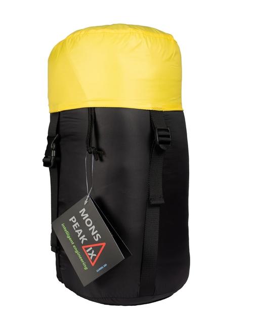 mons peak ix settler 15f sleeping bag in stuff sack 1