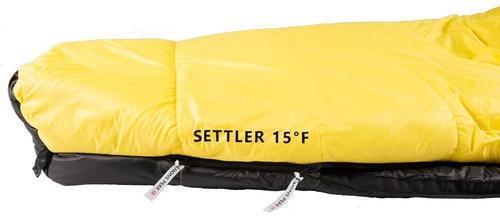 mons peak ix settler 15f sleeping bag l zipper 8
